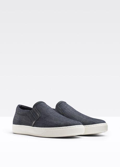 Barron Mixed Media Slip On Sneaker