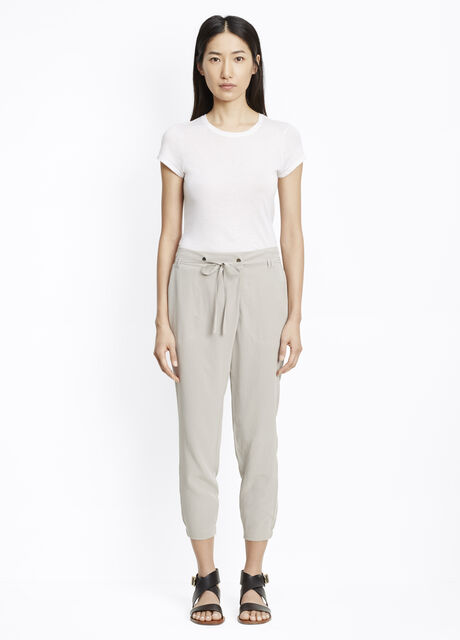 Silk Crossover Pant