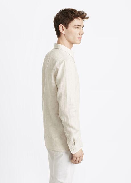 Melrose Linen Button Up