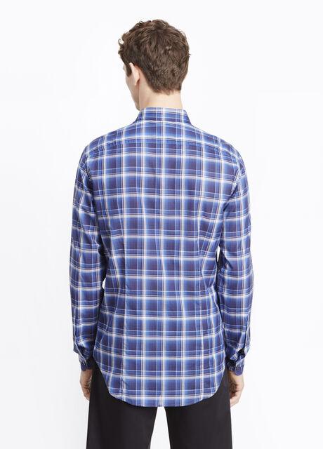 Lightweight Yarn Dye Button Up