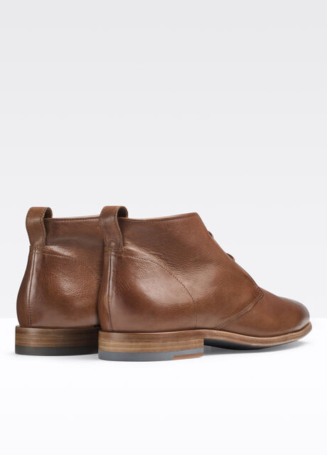 Alberto Ginger Leather Chukka Boot