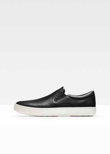 Ace Perforated Leather Sneaker