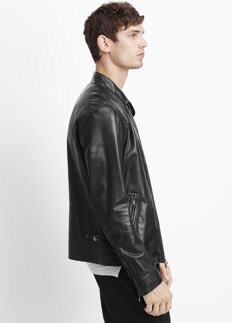 Essential Leather Moto Jacket