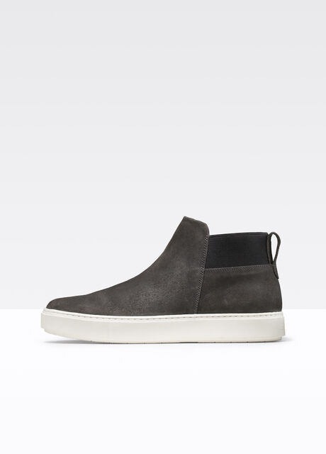 Langford Waxed Leather Sneaker