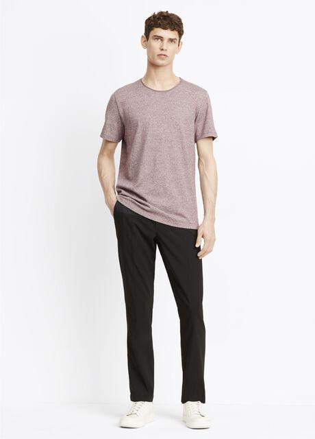 Mixed Media Wool City Trouser