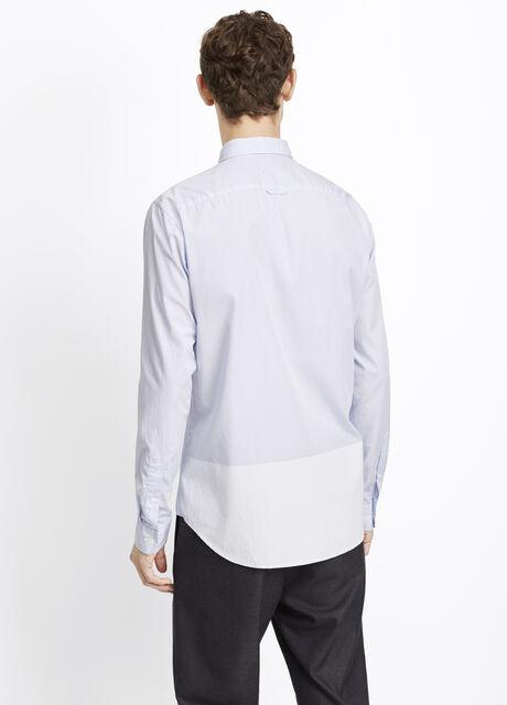 Melrose Engineered Stripe Button Up