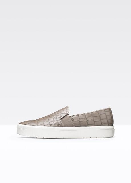 Berlin Exotic Embossed Leather Sneaker
