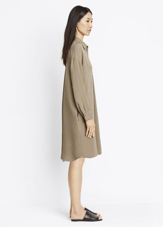 Long Sleeve V-Neck Dress