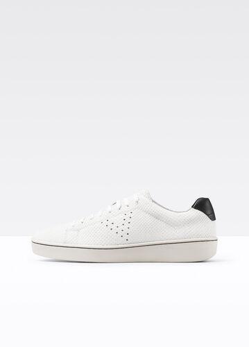 Simon Textured Leather Sneaker