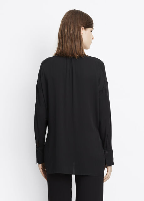Covered Placket Blouse