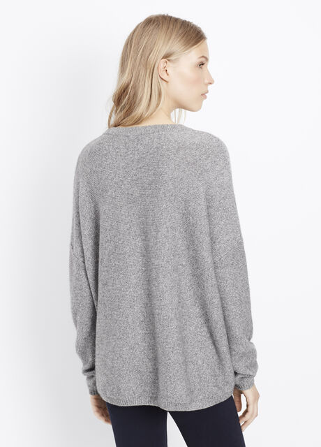 Easy Fit Ribbed Boatneck Sweater