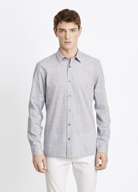 Melrose Plain Weave Button Up