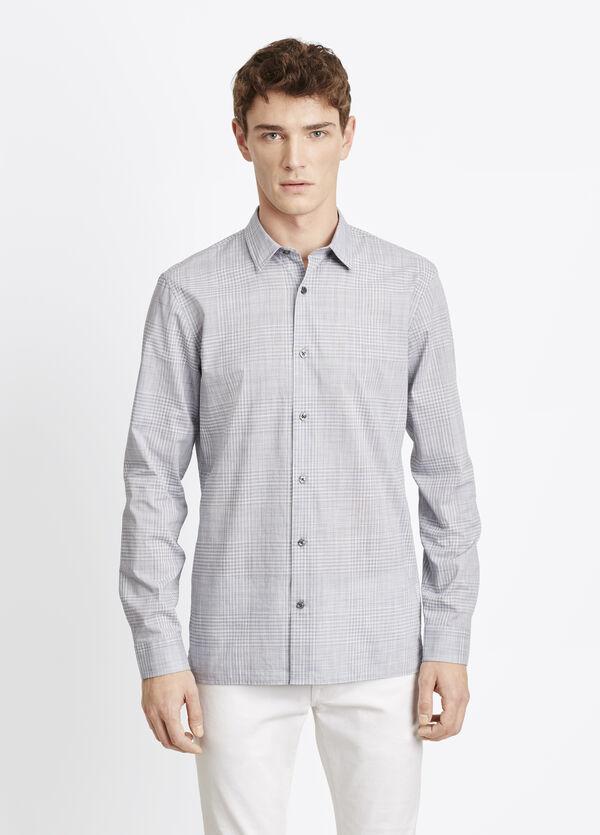 Melrose Plain Weave Button Up