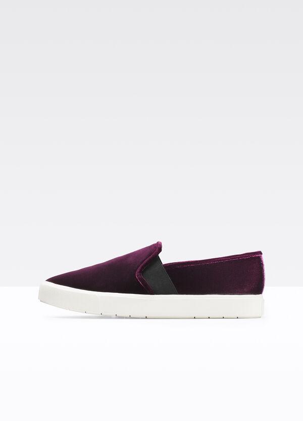 Blair Velvet Sneaker