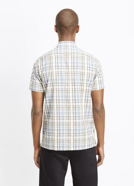 Melrose Plaid Short Sleeve Button Up