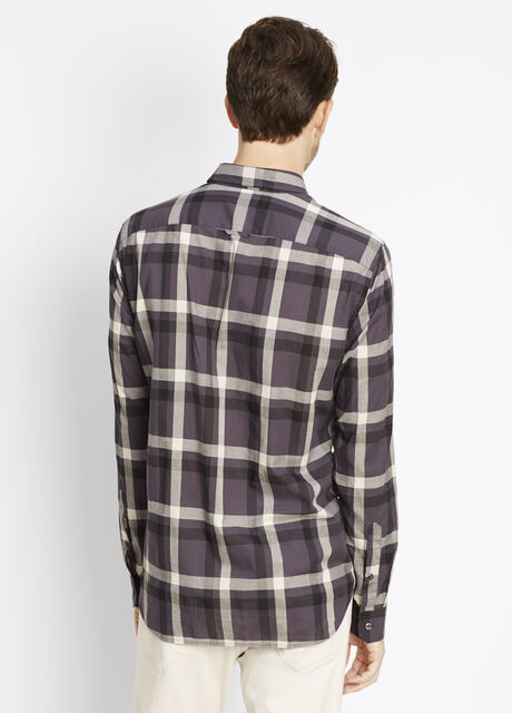 Melrose Graphic Plaid Button Up