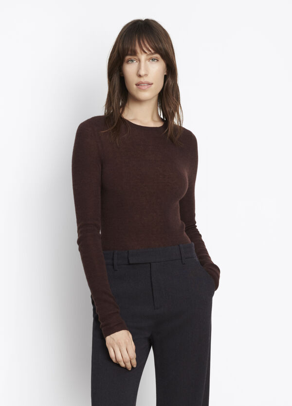 Cashmere Long Sleeve Crew
