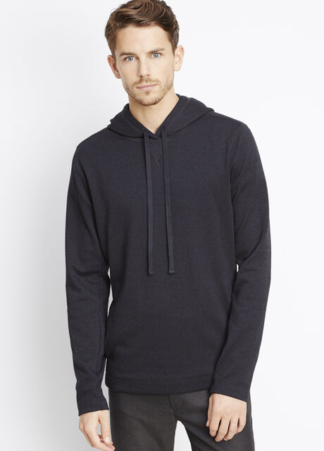 Double Knit Pullover Hoodie