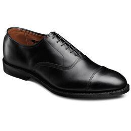 Park Avenue Cap-toe Oxfords, 5615 Black Custom Calf, blockout