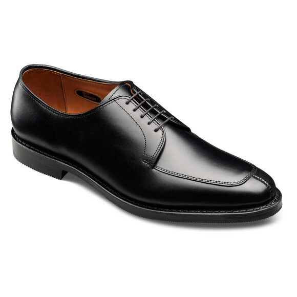 Delray with Combination Tap Sole, 1219 Black Custom Calf, blockout