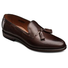 Grayson Dress Loafers, 8347 Brown Burnished Calf, blockout