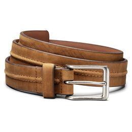 South Fork Casual Belt, 37244 Tan Leather, blockout