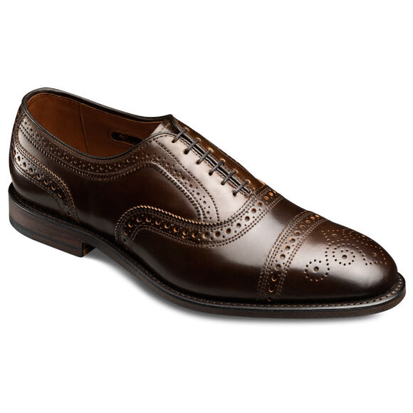 , 1645 Brown Genuine Shell Cordovan, blockout