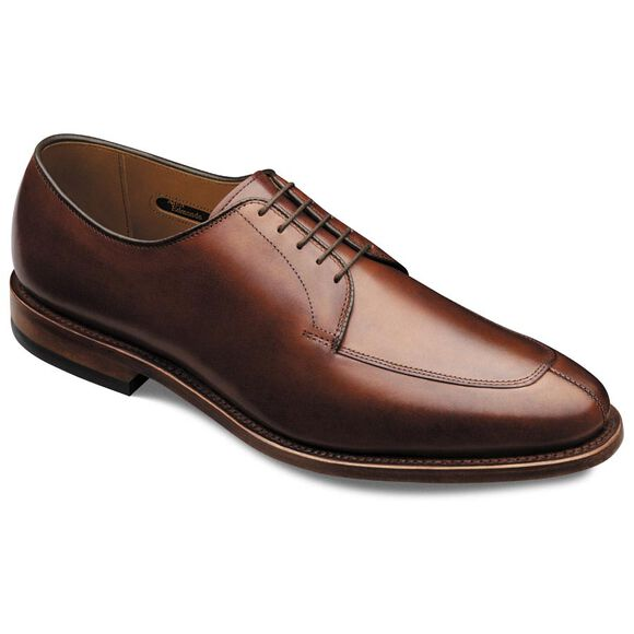Delray Dress Shoes, 1298 Chili Burnished Calf, blockout