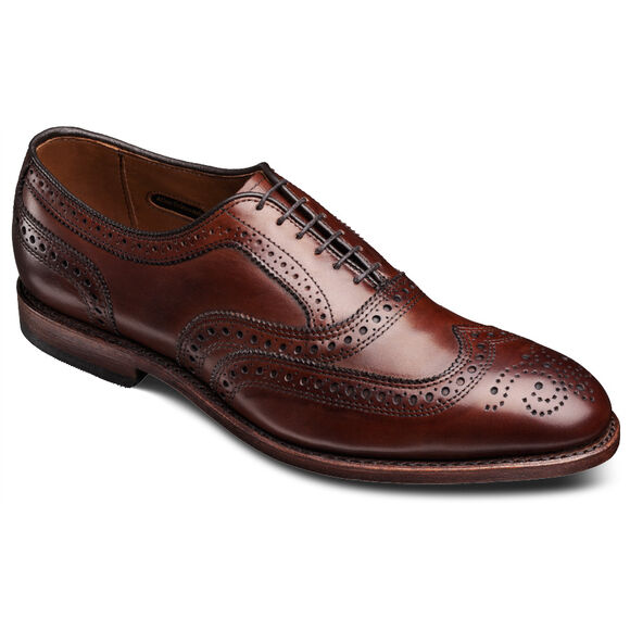McAllister Wingtip Oxfords, 6202 Dark Chili, blockout