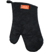 BBQ Mitt - Black Canvas & Leather