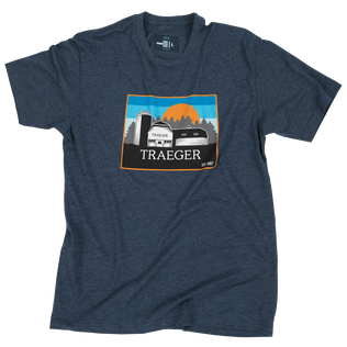 Heritage Barn T-Shirt - Blue