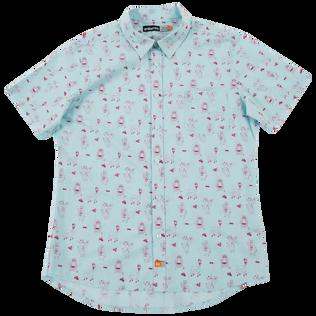 Traeger X ambsn Woven Short Sleeve Button Up Shirt