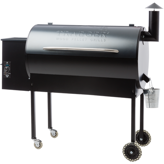 Texas pro pellet grill traeger wood fired grills for Traeger smoker