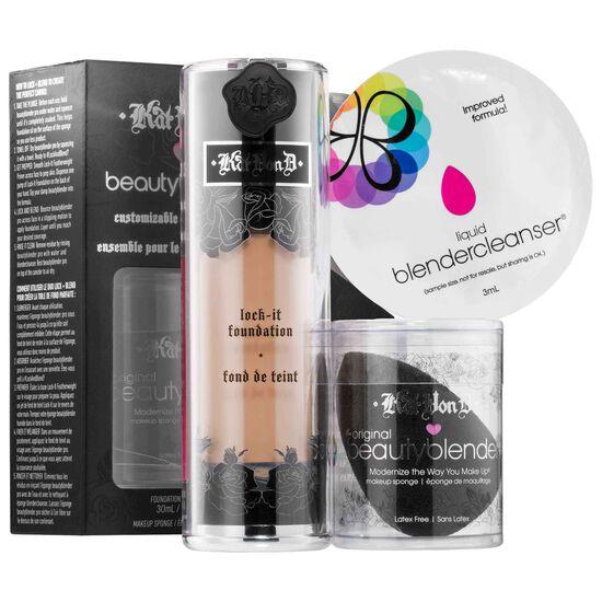 KVD + beautyblender® Customizable Complexion SetKVD + beautyblender® Customizable Complexion Set,