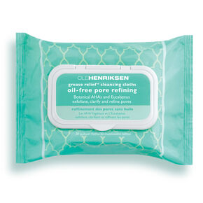grease relief™ cleansing cloths