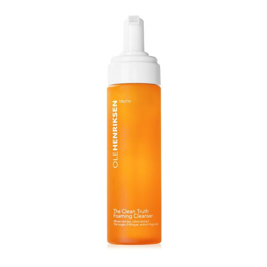 the clean truth™ foaming cleanser,