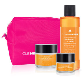 anti-aging + brightening regimen set,