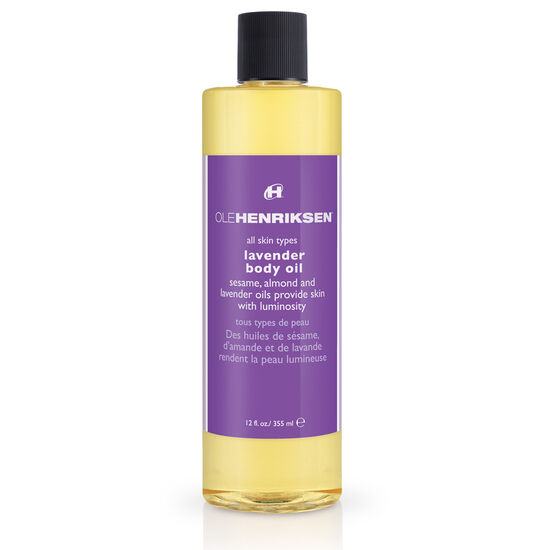 lavender body oil,