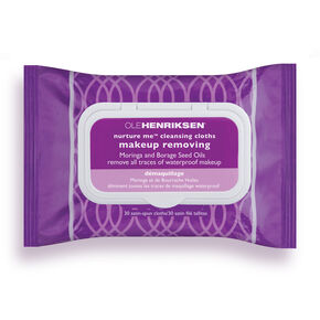 nurture me™ cleansing cloths,