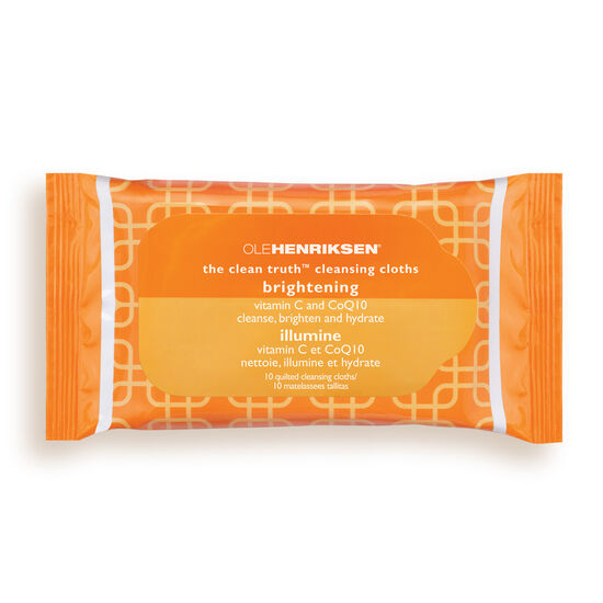 the clean truth™ cleansing cloths