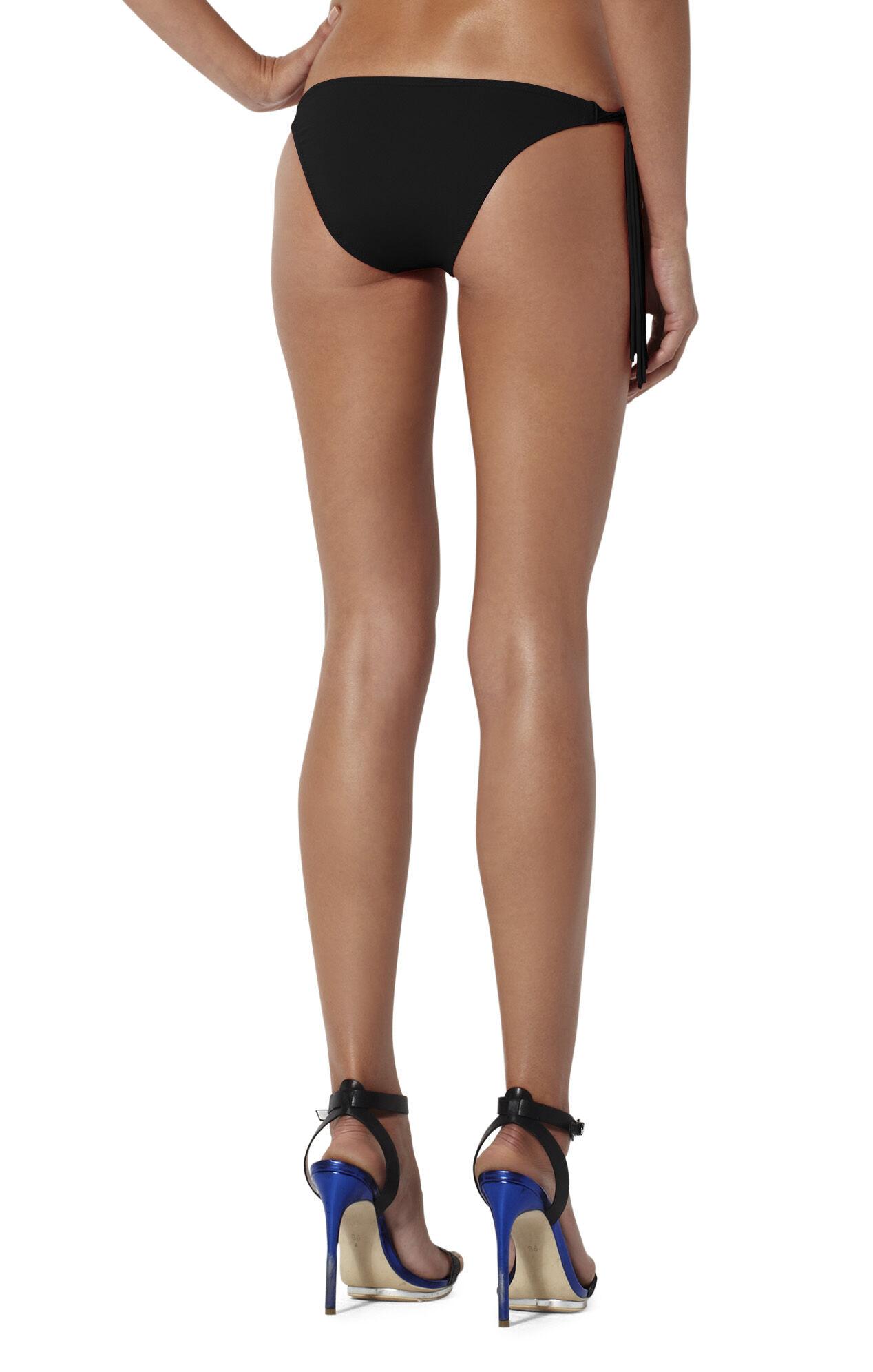 Fringe-Trim Bikini Bottom
