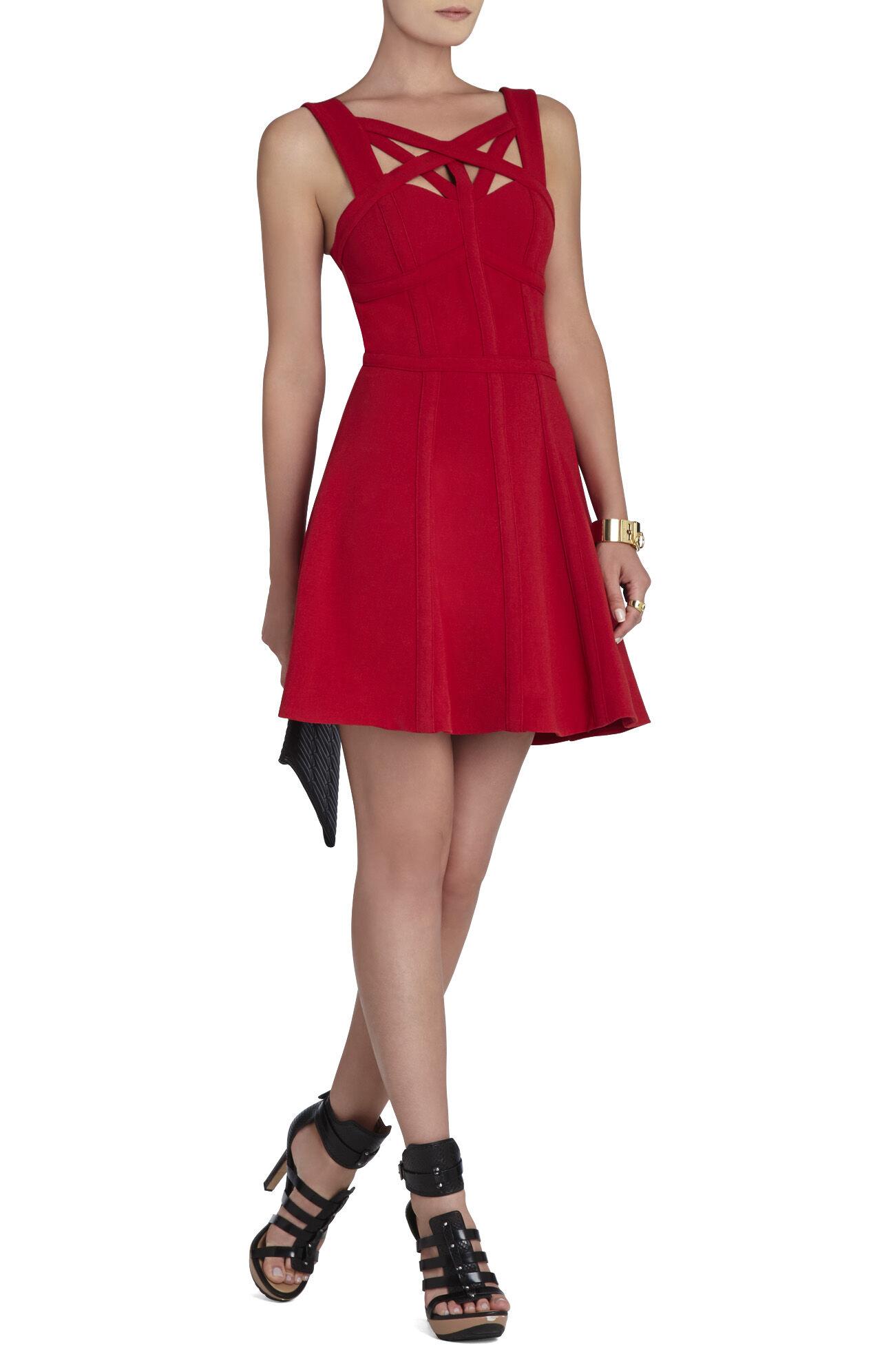 Yasminka Corset A-Line Dress
