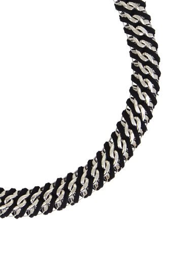 Woven Box-Chain Necklace