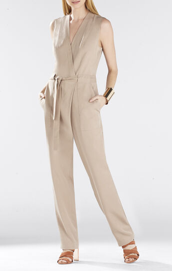 Ridley Safari Wrap Jumpsuit