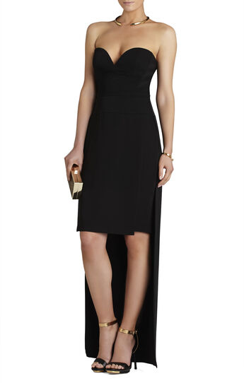 Kristene Strapless High-Low Dress