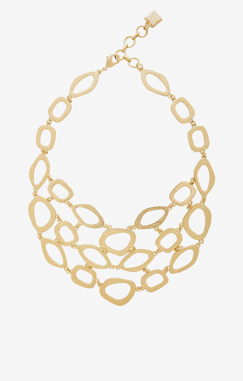 Hammered Loop Necklace