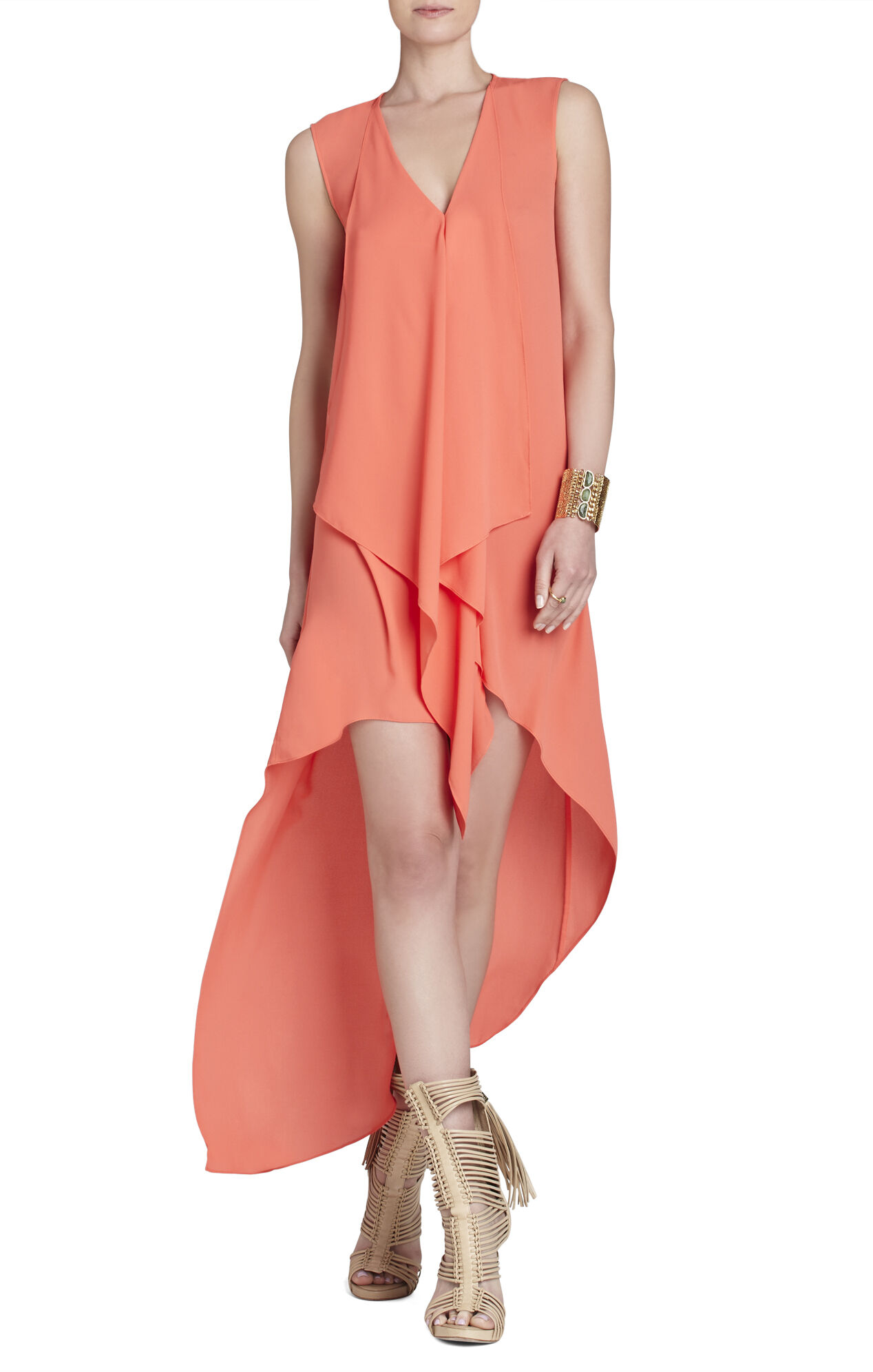 Tara High-Low Maxi Dress