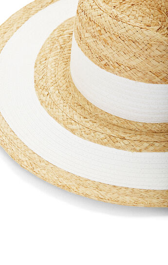 Striped Panama Hat