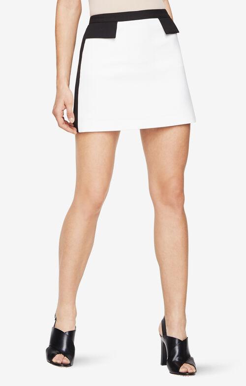 Kaela Tuxedo Miniskirt