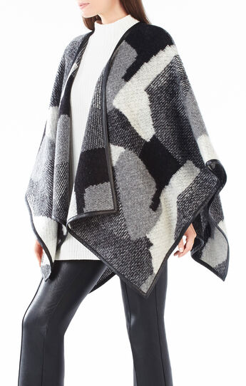 Rudy Patchwork Jacquard Wrap